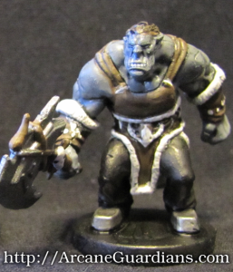D&D Orc Fighter 10/45 Icons of the Realms